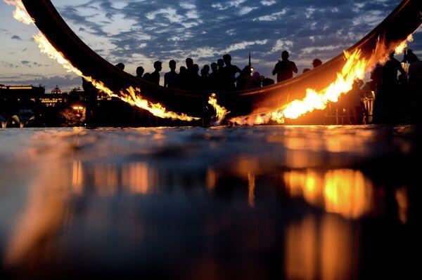 Огонь Европейских игр