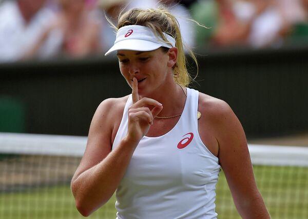 Американская теннисистка Коко Вандевеге