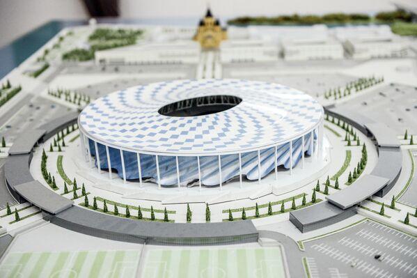 Строительство стадиона Нижний Новгород к ЧМ-2018