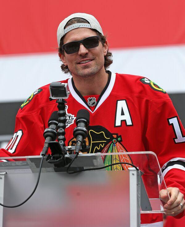 Форвард клуба НХЛ Даллас Старз Патрик Шарп