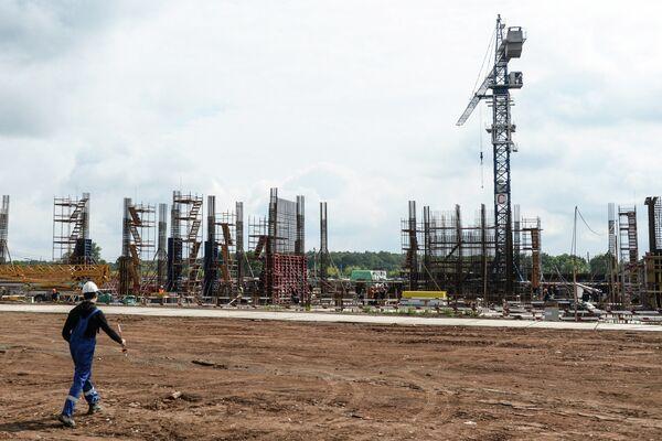 Строительство стадиона Космос Арена в Самаре к ЧМ-2018