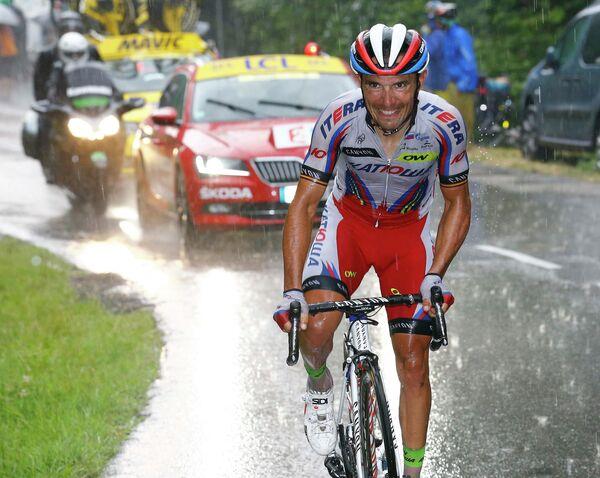 Хоаким Родригес на 12-м этапе Тур де Франс