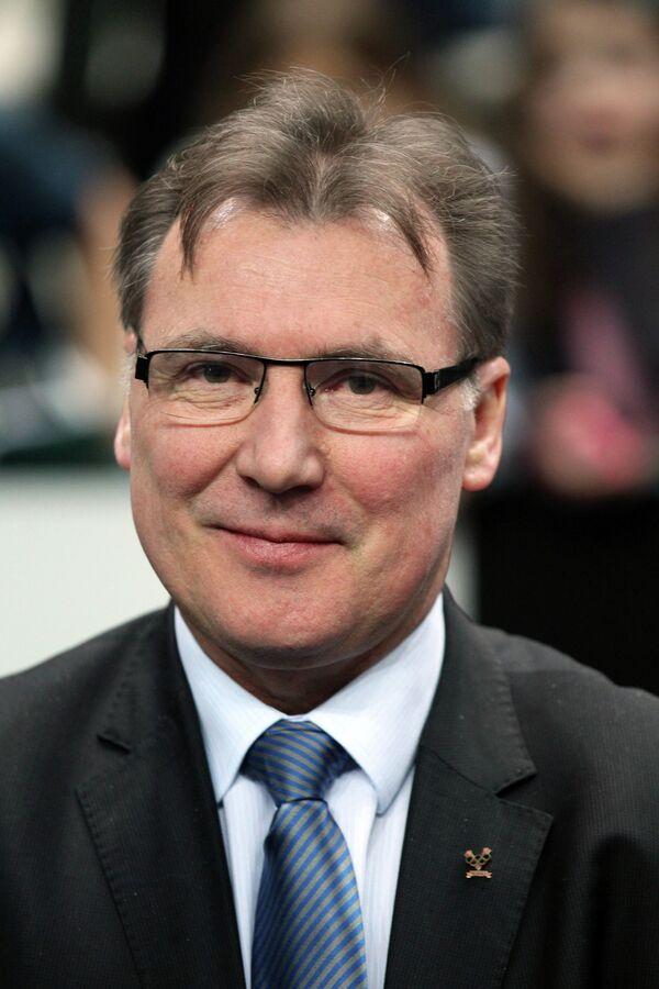 Генеральный секретарь международной федерации фехтования (FIE) Фредерик Петрушка