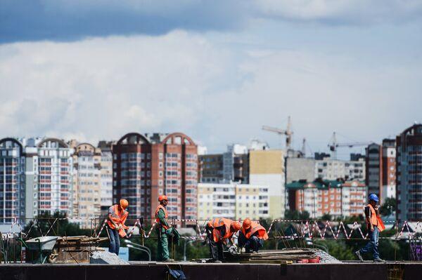 Строительство стадиона Мордовия Арена к ЧМ-2018