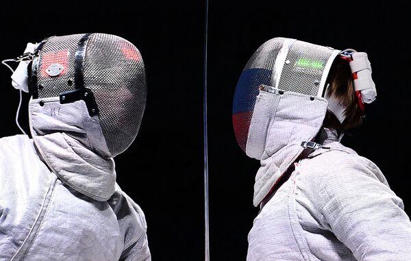 Слева направо: Лука Куратоли (Италия) и Николай Ковалев (Россия)