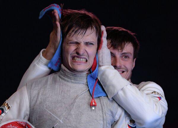 Слева направо: Алексей Черемисинов (Россия) и Дмитрий Ригин (Россия)