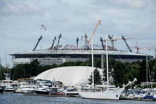 Строительство стадиона Зенит-Арена