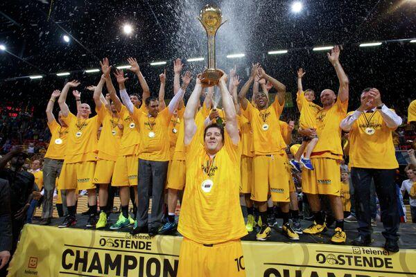 Баскетболисты Остенде