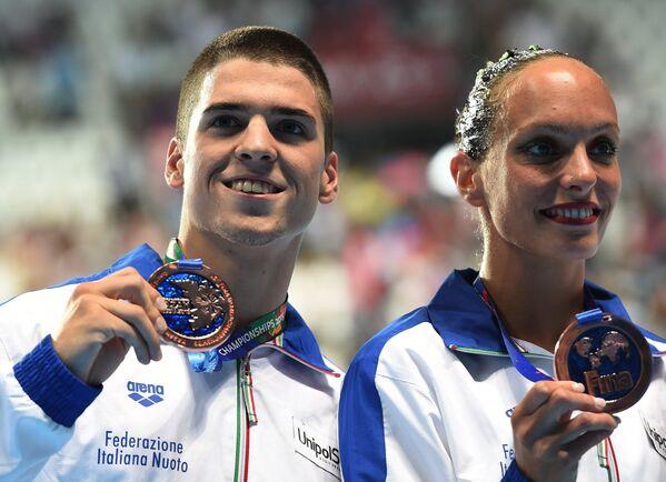 Джорджио Минисини и Марианджела Перрупато (Италия)