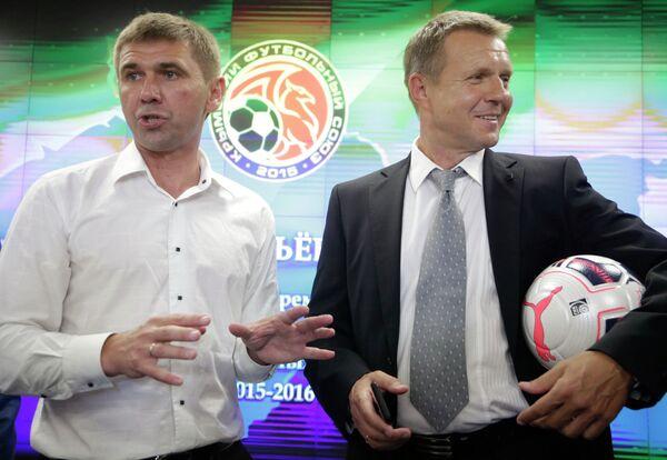 Юрий Ветоха (слева) и Александр Красильников