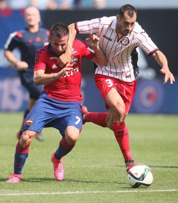 Игровой момент матча ЦСКА - Амкар