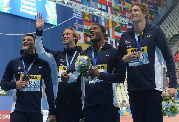 Спортсмены сборной Франции