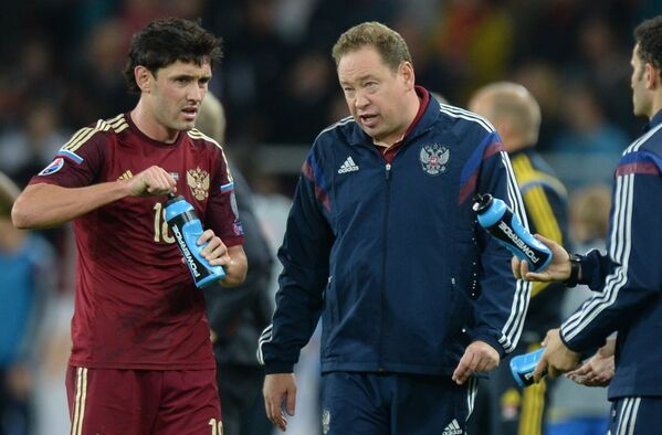 Юрий Жирков (слева) и Леонид Слуцкий