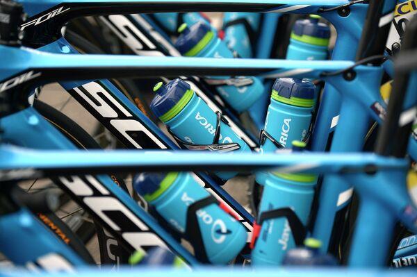 Велосипеды австралийской команды Orica GreenEDGE