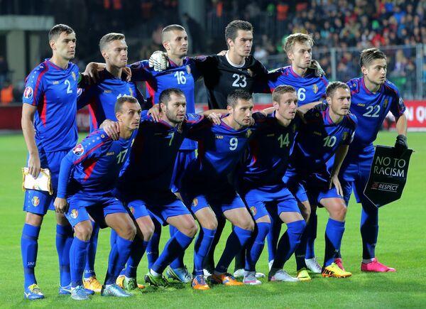 Игроки сборной Молдавии