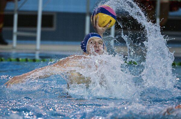 Игрок сборной Италии по водному поло Джакомо Бини