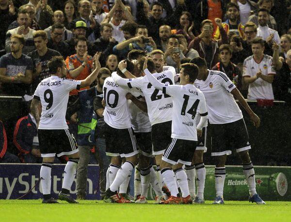 Футболисты Валенсии