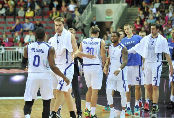 Баскетболисты Цмоки-Минск