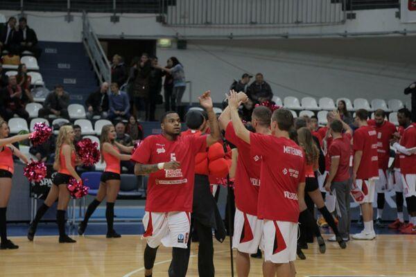 Баскетболисты Красного Октября