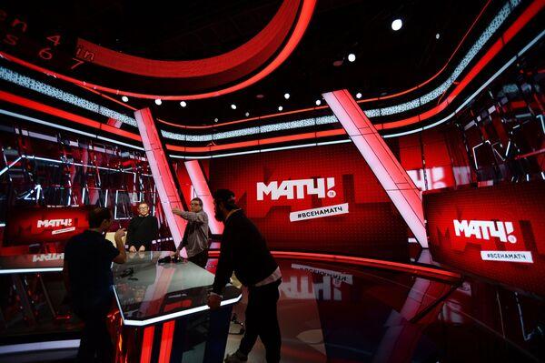 Ньюсрум телеканала Матч ТВ