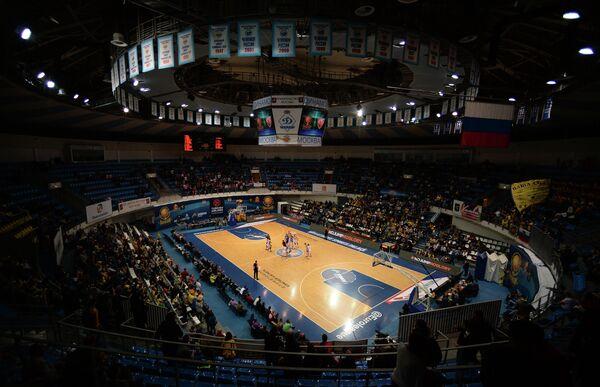 Матч группового этапа Евролиги между БК Химки (Химки, Россия) и БК Црвена Звезда (Белград, Сербия)