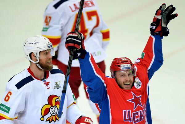 Ян Муршак (справа) и Топи Яакола