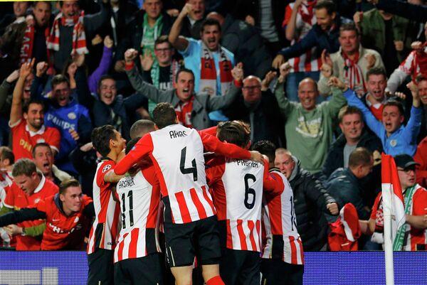 Футболисты голландского ПСВ