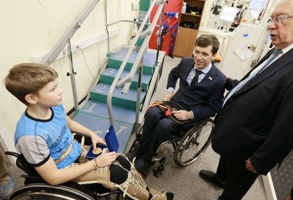 Паралимпийский комитет России взял шефство над 11-летним мальчиком