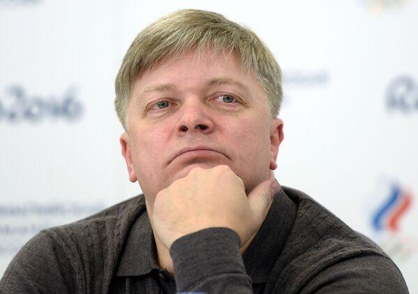 Главный тренер сборной России по тяжелой атлетике Александр Венков