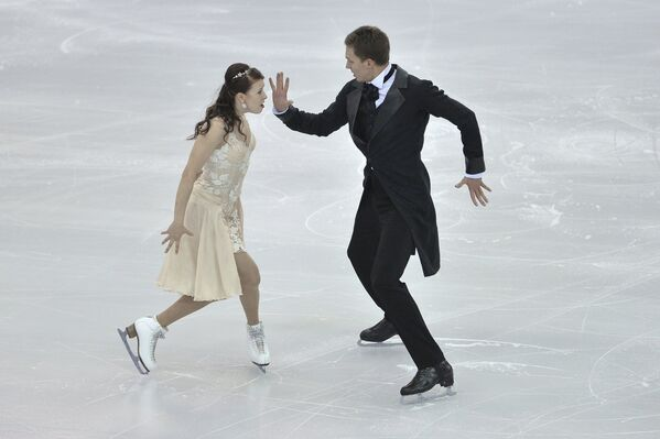 Екатерина Боброва и Дмитрий Соловьев