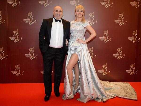 Иосиф Пригожин с супругой, певицей Валерией