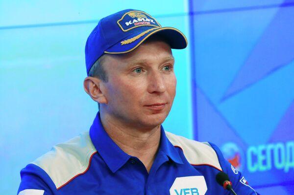Руководитель команды КАМАЗ-мастер Владимир Чагин