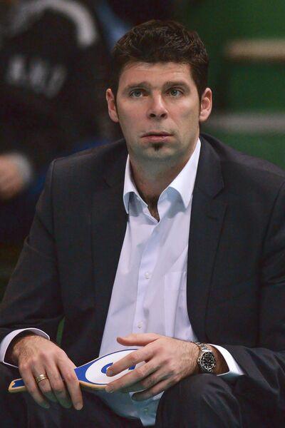 Тренер ВК Динамо (Москва) Роман Яковлев