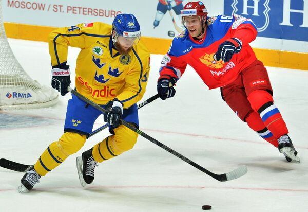 Юнас Юнланд (слева) и Денис Кокарев