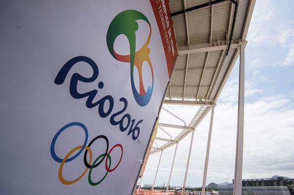 Логотип летних Олимпийских игр 2016 года в Рио-де-Жанейро