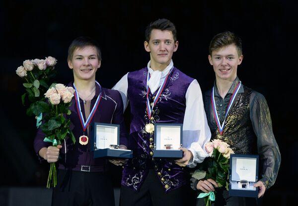 Михаил Коляда, Максим Ковтун и Александр Петров (слева направо)