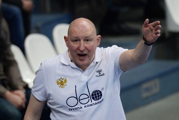 Тренер мужской сборной команды России по гандболу Дмитрий Торгованов