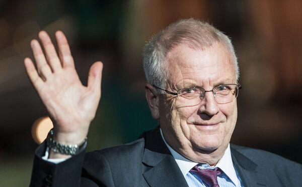 Президент Европейской легкоатлетической ассоциации Свен Арне Хансен