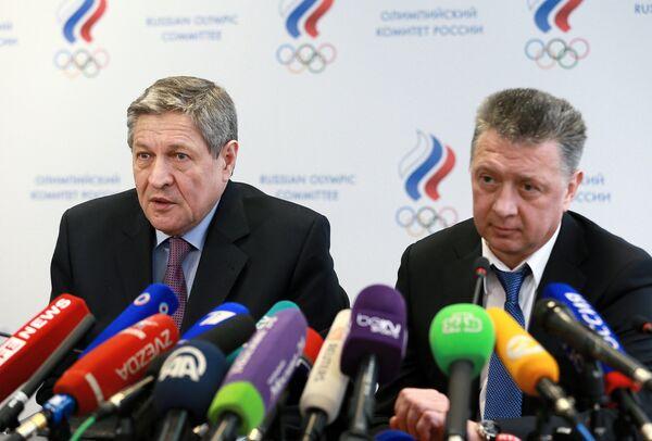 Геннадий Алешин и Дмитрий Шляхтин (справа)