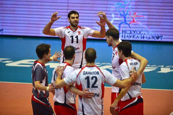 Волейболисты Белогорья