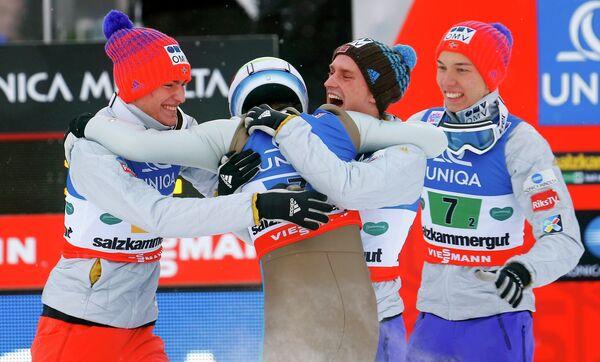 Сборная Норвегии по полетам на лыжах