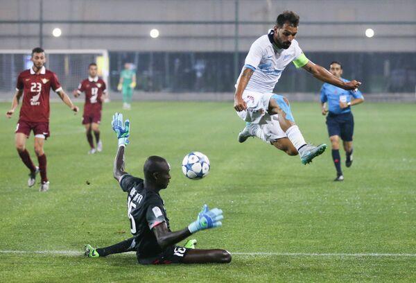 Игровой момент матча Зенит - Аль-Джаиш
