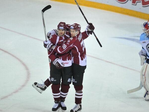 Игроки ХК Динамо (Рига)