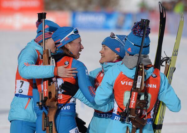 Женская сборная России по биатлону