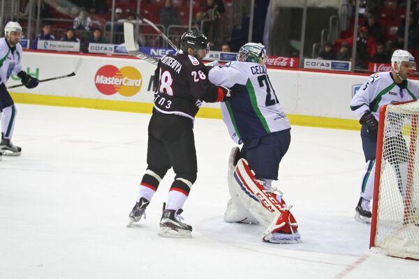 Максим Якуценя и Георгий Гелашвили (слева направо)