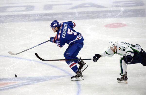 Роман Рукавишников (слева) и Андрей Анкудинов