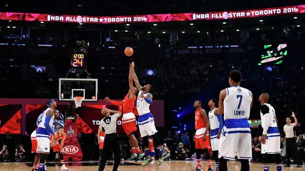 Игровой момент Матча звезд НБА-2016