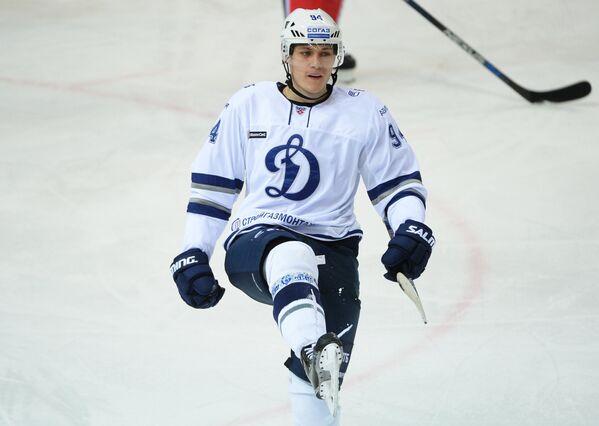Защитник Динамо (Москва) Андрей Миронов