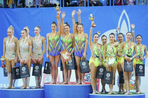 Художественная гимнастика. Гран-при Москвы. Второй день