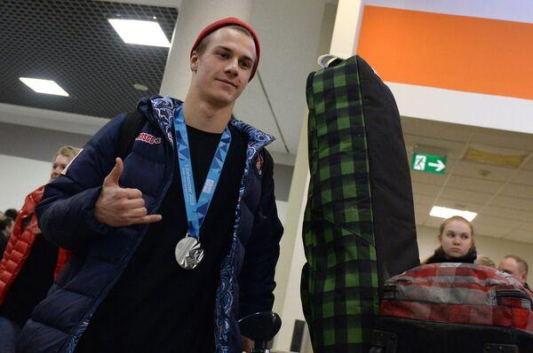 Сноубордист Владислав Хадарин